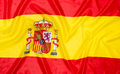 Flag of Spain Spanish Royalty Free Stock Photo