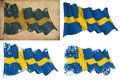 Flag of Sweden Royalty Free Stock Photos