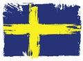 Flag Of Sweden. Design element