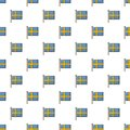 Flag of Sweden pattern seamless