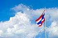 Flag of Thailand Stock Photo
