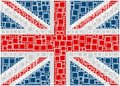 Flag of United Kingdom Stock Photo