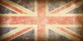 Flag of United Kingdom. Stock Photography