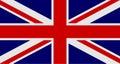 Flag of United Kingdom of Great Britain and Northern Ireland. UK flag aka Union Jack. Vector illustration