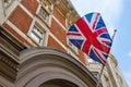 Flag of the United Kingdom Royalty Free Stock Photo