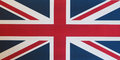flag of the United Kingdom (UK) aka Union Jack Royalty Free Stock Photo
