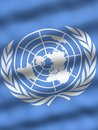 Flag of United Nations Stock Photos