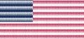 Flag USA as partnership, politics and people concept, american national flag vector