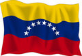 Flag of Venezuela Royalty Free Stock Image