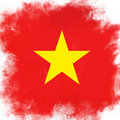 Flag of vietnam Stock Images