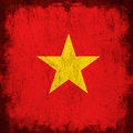 Flag of vietnam Royalty Free Stock Photo
