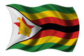 Flag of Zimbabwe Stock Photography