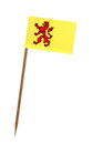 Flag of Zuid Holland Royalty Free Stock Photo