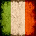 Flagga ireland Royaltyfria Foton