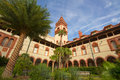 Flagler College Royalty Free Stock Photo
