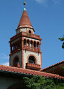 Flagler College Tower Stock Photo