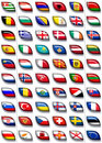 Flags of Europe 2 Royalty Free Stock Images