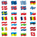 Flags of europe vector illustration world Stock Photo