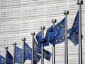 Flags of European Union Royalty Free Stock Images
