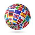 Vlajky zeměkoule