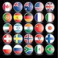 Flags, part 2 Royalty Free Stock Images
