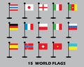Flags vector of the world world flags vector