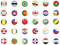 Flags of the world 1 Royalty Free Stock Photo