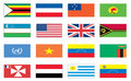 Flags of the world 8 of 8 Royalty Free Stock Photo