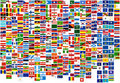 Flags of the world country,states and naval(war,fi Stock Image