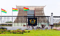 The flagstaff house presidential palace of ghana accra february commonly known as is in accra which serves as a Royalty Free Stock Photography