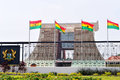 The flagstaff house presidential palace of ghana accra february commonly known as is in accra which serves as a Royalty Free Stock Photo
