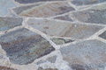 Flagstone Patio Royalty Free Stock Photo