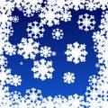 Flake av snow Royaltyfria Foton