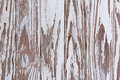 Flaking Peeling Paint On White Wooden Panelled Door Royalty Free Stock Photo