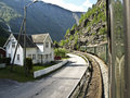 Flam fiord railway tour norway scenic Royalty Free Stock Images