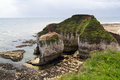 Flamborough hoofdyorkshire Stock Foto