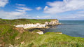 Flamborough huvud yorkshire Arkivfoto