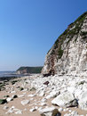 Flamborough Klippe Stockbild