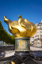 Flame of liberty in Paris Royalty Free Stock Photo