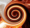 Flame vortex Royalty Free Stock Photo