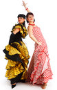Flamenco dancers Royalty Free Stock Image
