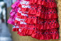 Flamenco dress Royalty Free Stock Photo