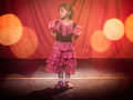 Flamenco girl Royalty Free Stock Photo