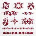 Flames tribal / tatoo