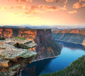 Flaming gorge recreation area Stock Photo