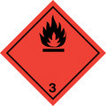 Flammable liquid Stock Image