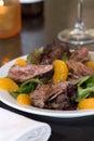 Flank steak salad Royalty Free Stock Photo