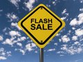Flash sale Royalty Free Stock Photo