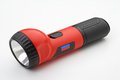 Flashlight various kinds of on a white background Royalty Free Stock Photos