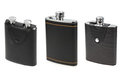 Flasks for alcohol Stock Images